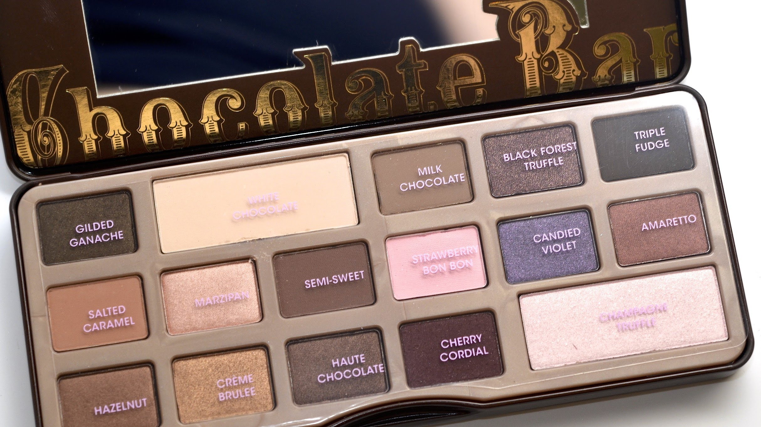 Schokolade-Lidschattenpalette Too Faced Chocolate Bar