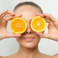 Gesichtsserum mit Vitamin C